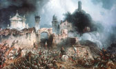 Schlacht von Solferino (Gemälde von Carlo Bossoli)